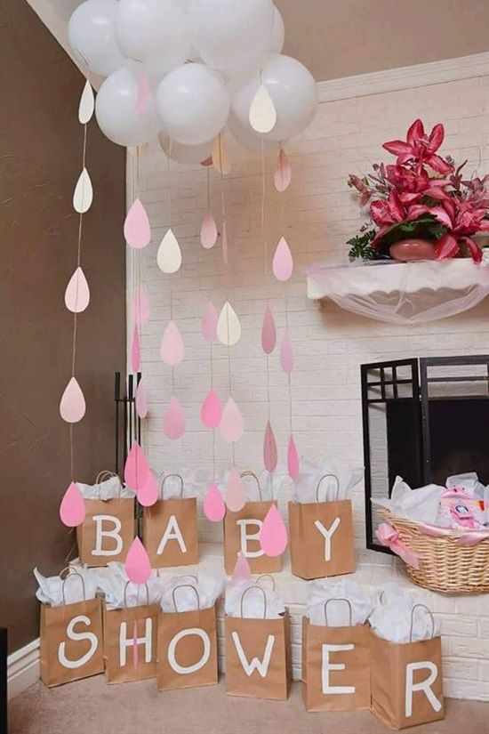 A white and pink design baby shower - Cosmopolitan Lifestyle SuperMomGlobal
