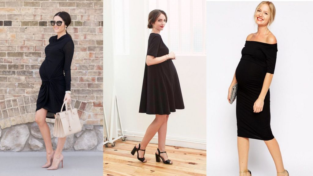 Three Women wearing Black Maternity Dress - Motherhood Support Group SupermomGlobal