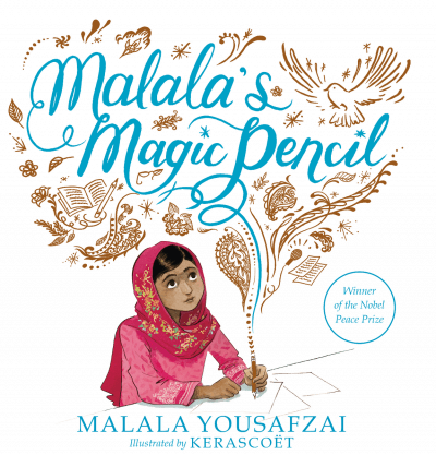 "A poster that says ""Malala's Magic Special"" - SupermomGlobal"