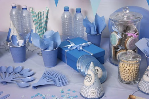 Blue Inspired Birthday Theme - Motherhood Support Group SupermomGlobal