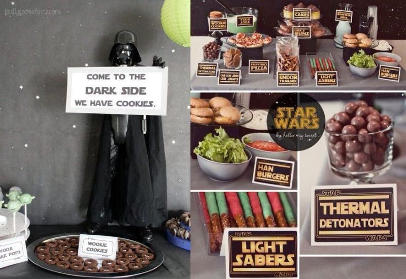 Star Wars Dessert Them - Asian Trendy moms SuperMomGlobal