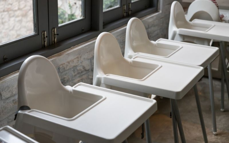 Highchairs Made of Plastic - SupermomGlobal